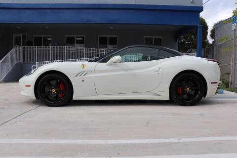 2014 Ferrari California for sale at PERFORMANCE AUTO WHOLESALERS in Miami FL