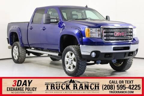 2013 GMC Sierra 2500HD for sale at Truck Ranch in Twin Falls ID