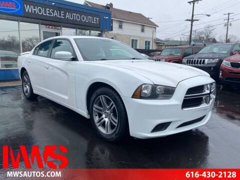 2013 Dodge Charger for sale at MWS Wholesale  Auto Outlet in Grand Rapids MI