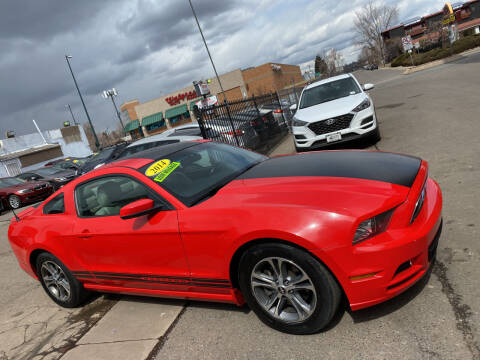 2014 Ford Mustang for sale at Sanaa Auto Sales LLC in Denver CO