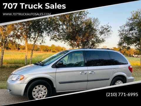 2006 Chrysler Town and Country for sale at 707 Truck Sales in San Antonio TX