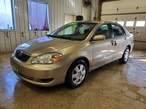 2007 Toyota Corolla for sale at Sand's Auto Sales in Cambridge MN