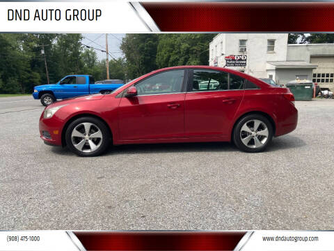 2011 Chevrolet Cruze for sale at DND AUTO GROUP in Belvidere NJ