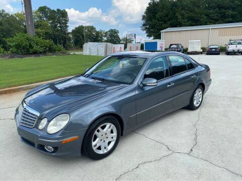 2007 Mercedes-Benz E-Class for sale at Two Brothers Auto Sales in Loganville GA