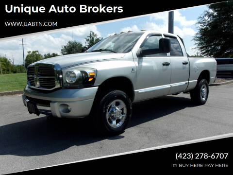2008 Dodge Ram Pickup 2500 for sale at Unique Auto Brokers in Kingsport TN