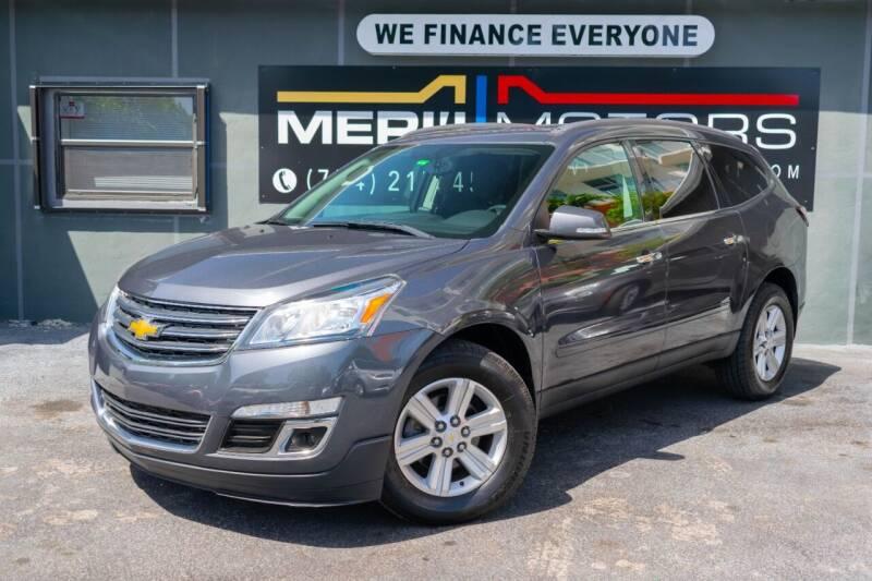 2013 Chevrolet Traverse for sale at Meru Motors in Hollywood FL