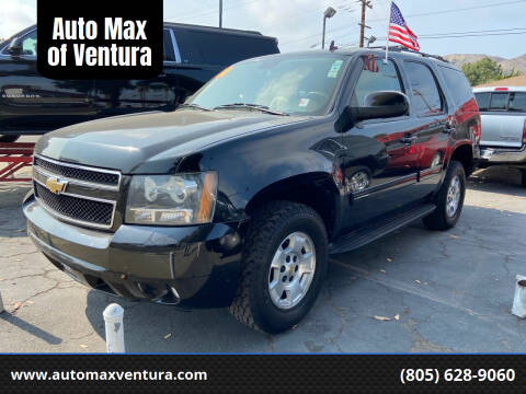 2011 Chevrolet Tahoe for sale at Auto Max of Ventura in Ventura CA