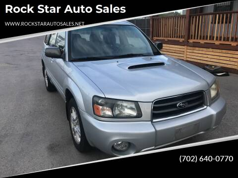 2004 Subaru Forester for sale at Rock Star Auto Sales in Las Vegas NV