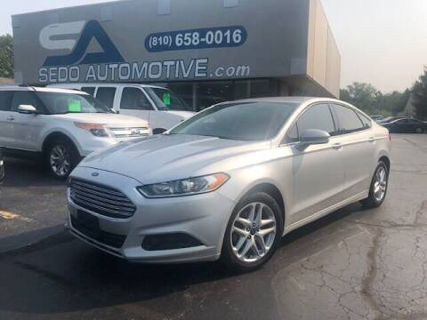 2014 Ford Fusion for sale at Sedo Automotive in Davison MI