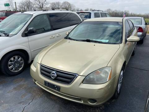 2003 Nissan Altima for sale at Sartins Auto Sales in Dyersburg TN