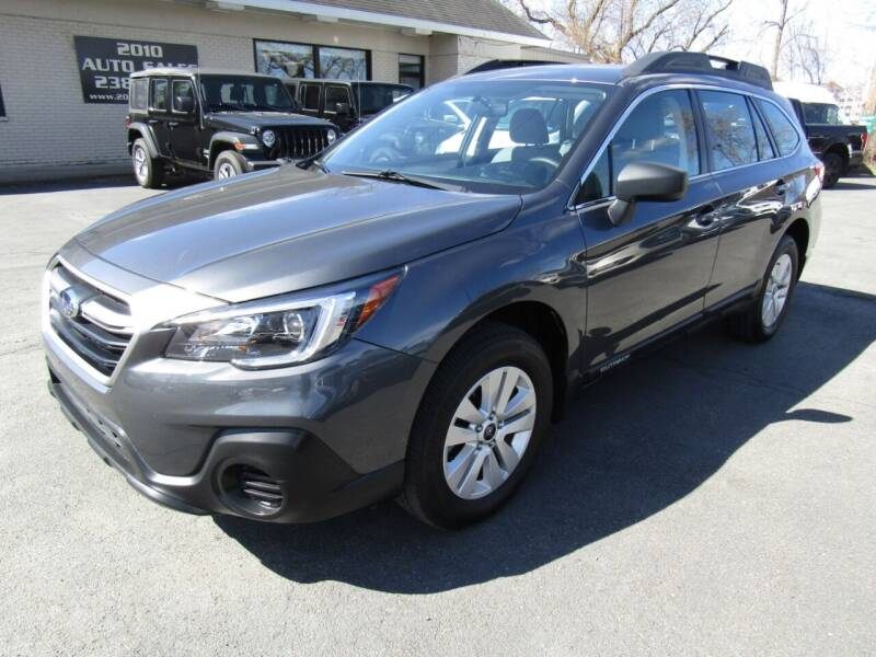 2018 Subaru Outback for sale at 2010 Auto Sales in Troy NY