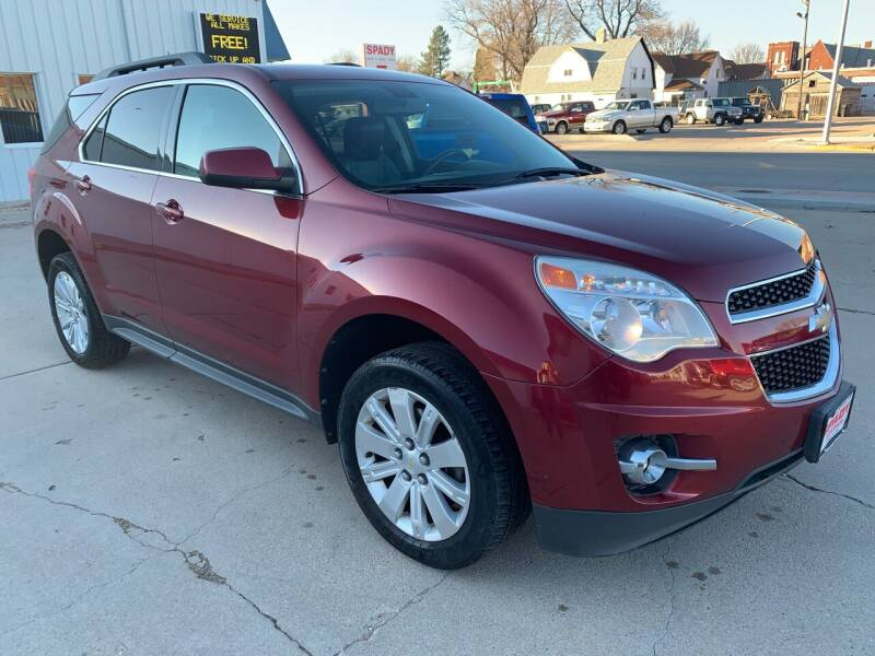 2011 Chevrolet Equinox for sale at Spady Used Cars in Holdrege NE
