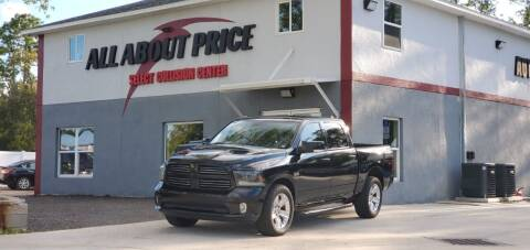 2015 RAM Ram Pickup 1500 for sale at All About Price in Bunnell FL