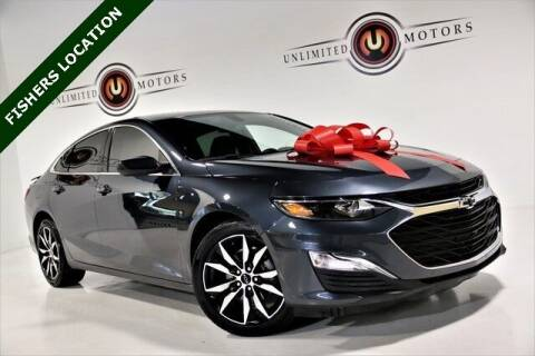 2020 Chevrolet Malibu for sale at Unlimited Motors in Fishers IN