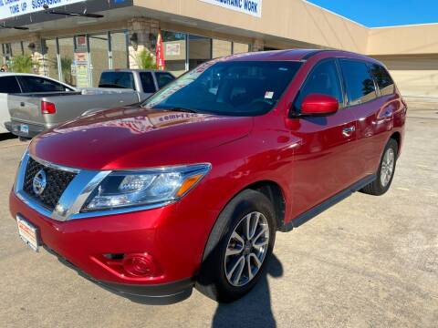 2014 Nissan Pathfinder for sale at Houston Auto Gallery in Katy TX