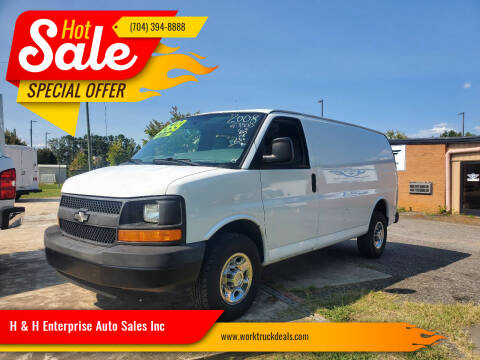 2008 Chevrolet Express Cargo for sale at H & H Enterprise Auto Sales Inc in Charlotte NC