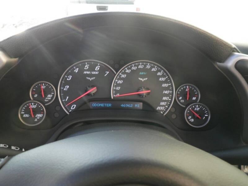 2005 Chevrolet Corvette 2dr Convertible - Aitkin MN