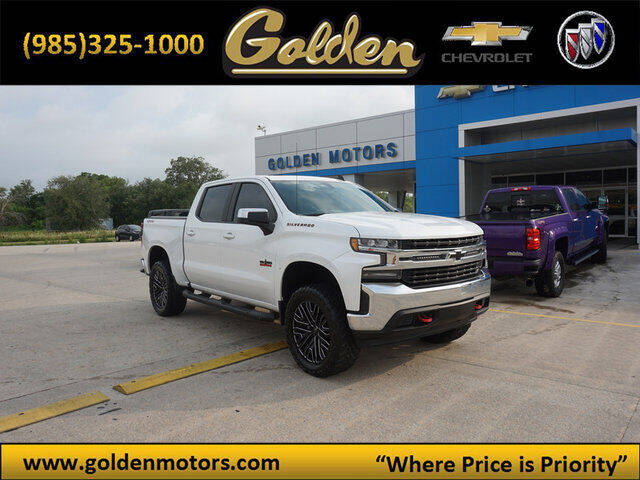 2019 Chevrolet Silverado 1500 for sale at GOLDEN MOTORS in Cut Off LA
