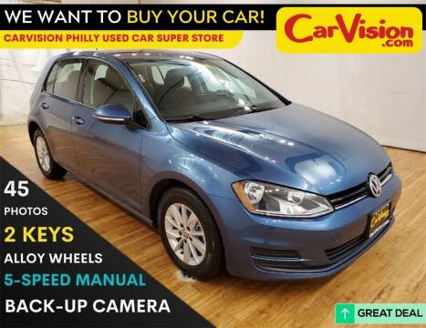 2017 Volkswagen Golf for sale at Car Vision Mitsubishi Norristown - Car Vision Philly Used Car SuperStore in Philadelphia PA