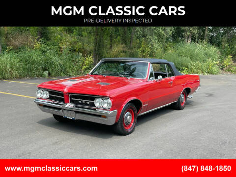 1964 Pontiac GTO for sale at MGM CLASSIC CARS in Addison IL
