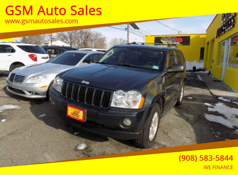 2007 Jeep Grand Cherokee for sale at GSM Auto Sales in Linden NJ