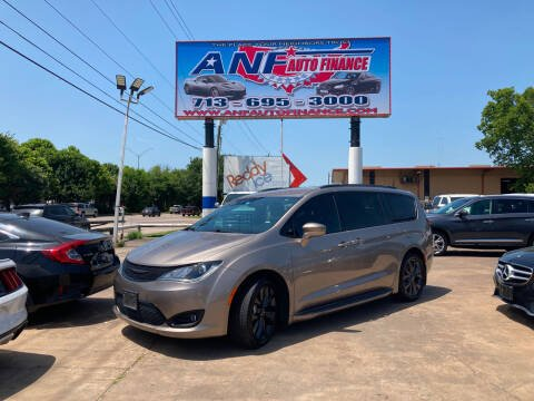 2018 Chrysler Pacifica for sale at ANF AUTO FINANCE in Houston TX