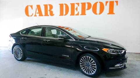 2018 Ford Fusion Hybrid for sale at Car Depot in Miramar FL