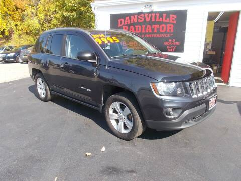 2014 Jeep Compass for sale at Dansville Radiator in Dansville NY