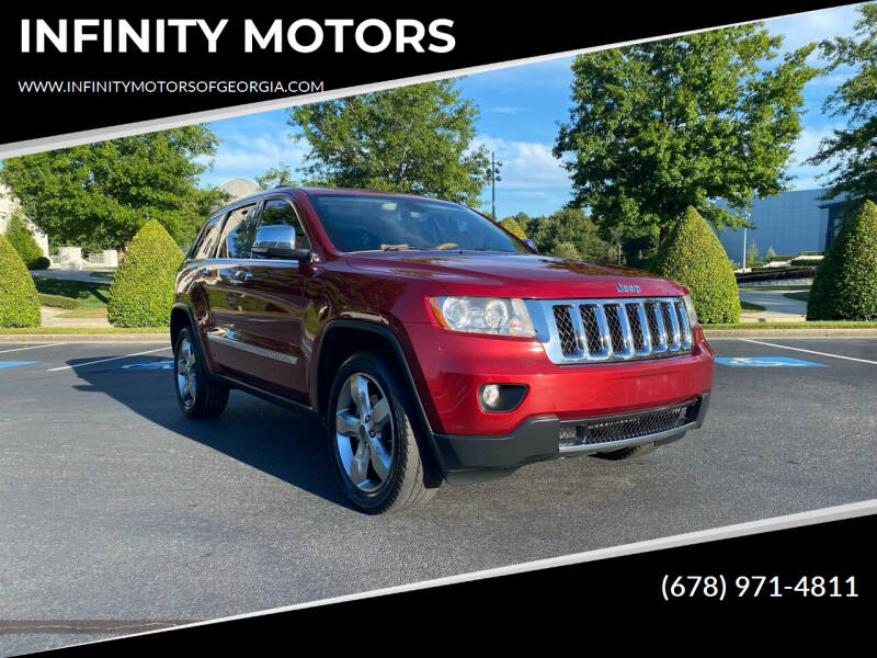 2013 Jeep Grand Cherokee for sale at INFINITY MOTORS in Gainesville GA
