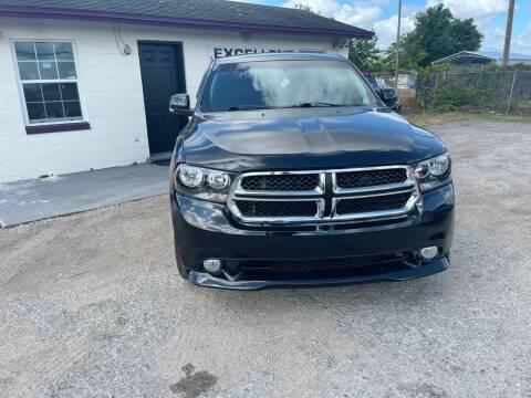2012 Dodge Durango for sale at Excellent Autos of Orlando in Orlando FL