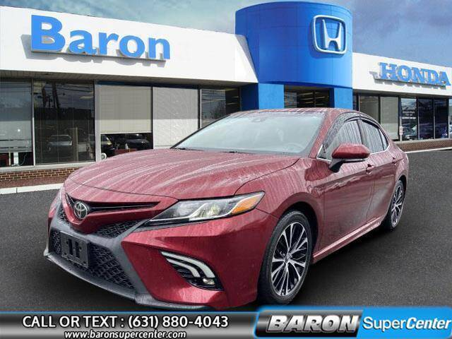 2018 Toyota Camry for sale at Baron Super Center in Patchogue NY
