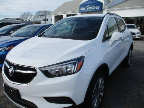 2017 Buick Encore for sale at AUTO FACTORY INC in East Providence RI