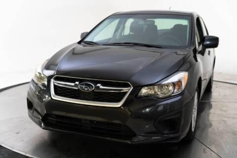 2014 Subaru Impreza for sale at AUTOMAXX MAIN in Orem UT