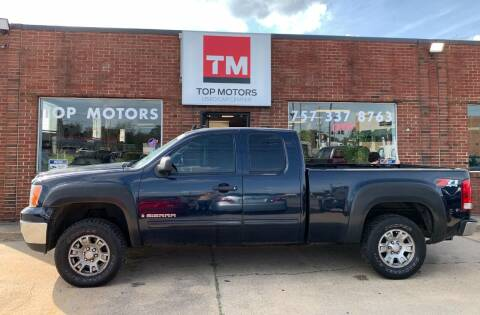 2008 GMC Sierra 1500 for sale at Top Motors LLC in Portsmouth VA