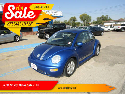 2002 Volkswagen New Beetle for sale at Scott Spady Motor Sales LLC in Hastings NE