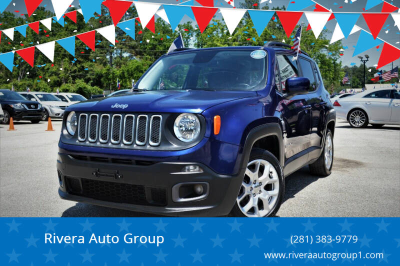 2017 Jeep Renegade for sale at Rivera Auto Group in Spring TX