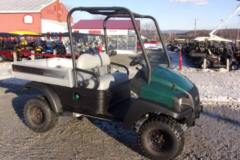 2013 Club Car Utility Cart AWD Carry All 295 KUBOTA DIESEL  for sale at Area 31 Golf Carts - Gas Utility Carts in Acme PA