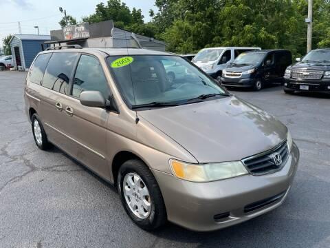 2003 Honda Odyssey for sale at LexTown Motors in Lexington KY