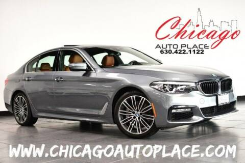 2018 BMW 5 Series for sale at Chicago Auto Place in Bensenville IL