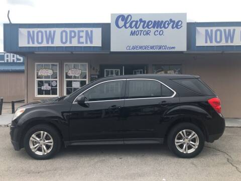 2012 Chevrolet Equinox for sale at Claremore Motor Company in Claremore OK