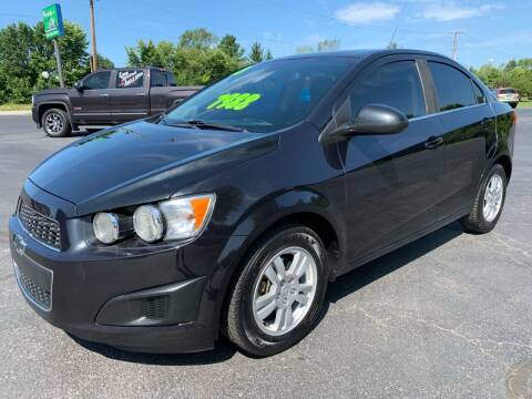 2013 Chevrolet Sonic for sale at FREDDY'S BIG LOT in Delaware OH