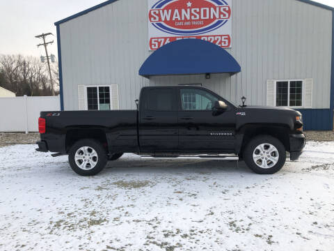 2018 Chevrolet Silverado 1500 for sale at Swanson's Cars and Trucks in Warsaw IN