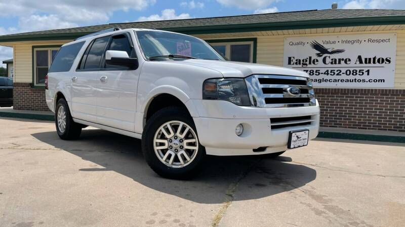 2012 Ford Expedition EL for sale at Eagle Care Autos in Mcpherson KS