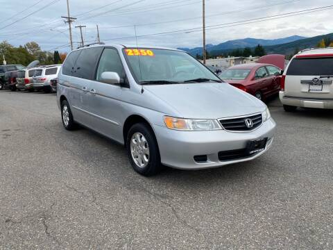 2002 Honda Odyssey for sale at Low Auto Sales in Sedro Woolley WA