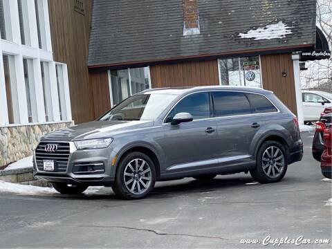2017 Audi Q7 for sale at Cupples Car Company in Belmont NH
