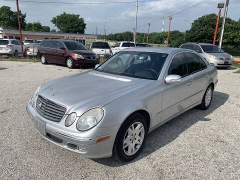 2003 Mercedes-Benz E-Class for sale at Texas Drive LLC in Garland TX