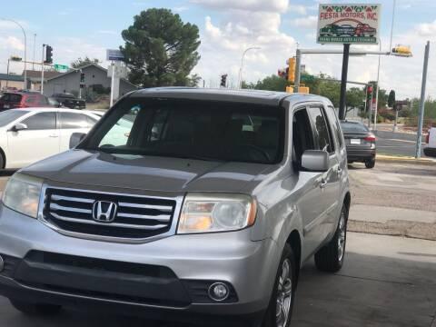 2012 Honda Pilot for sale at Fiesta Motors Inc in Las Cruces NM