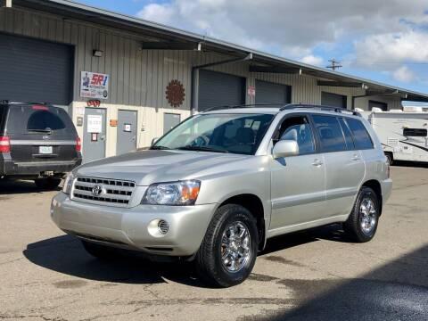 2005 Toyota Highlander for sale at DASH AUTO SALES LLC in Salem OR