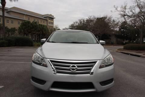 2013 Nissan Sentra for sale at Gulf Financial Solutions Inc DBA GFS Autos in Panama City Beach FL