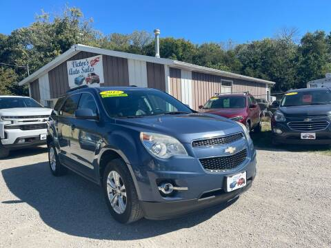 2012 Chevrolet Equinox for sale at Victor's Auto Sales Inc. in Indianola IA